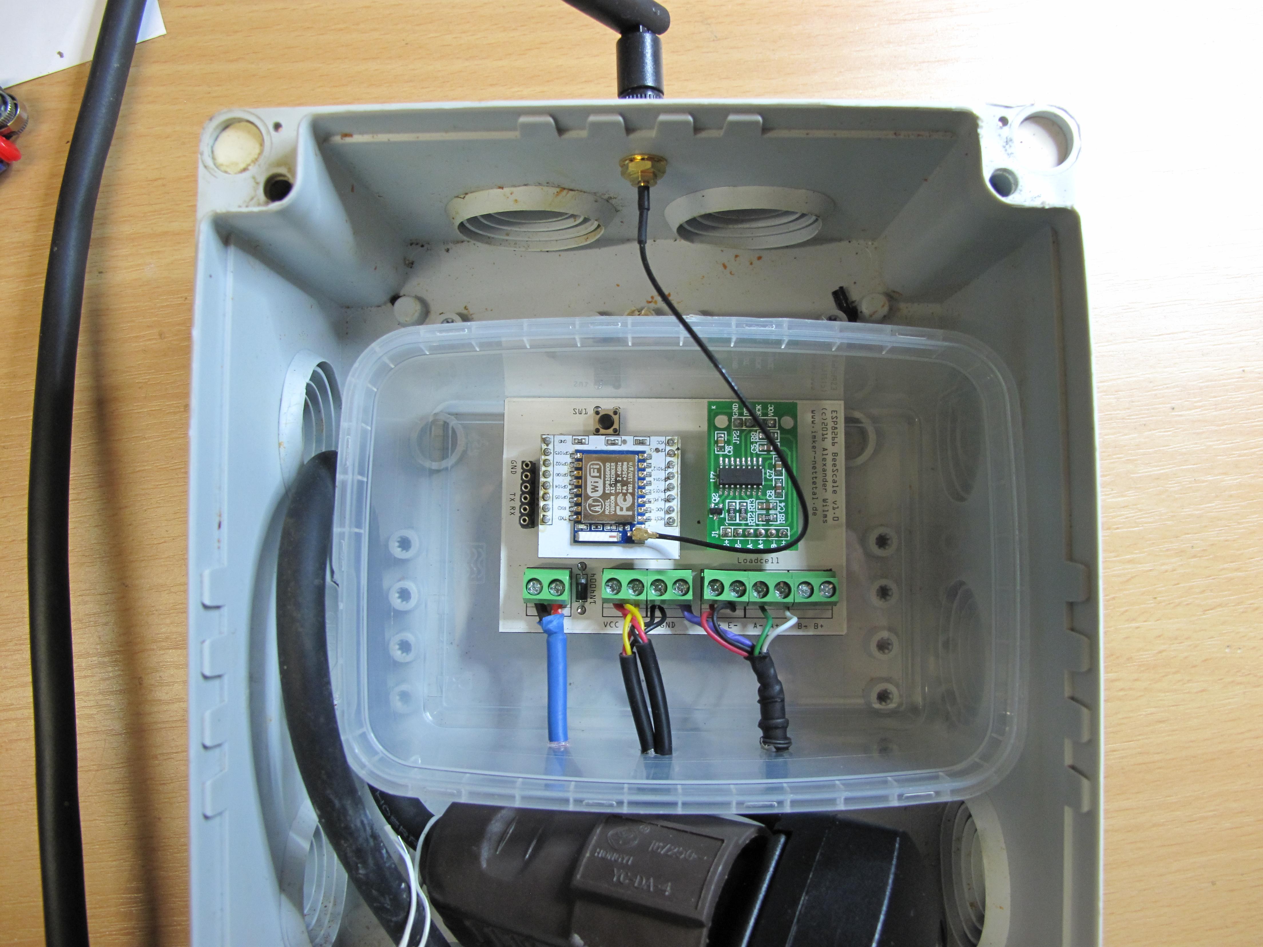 ESP8266 BeeScale - case